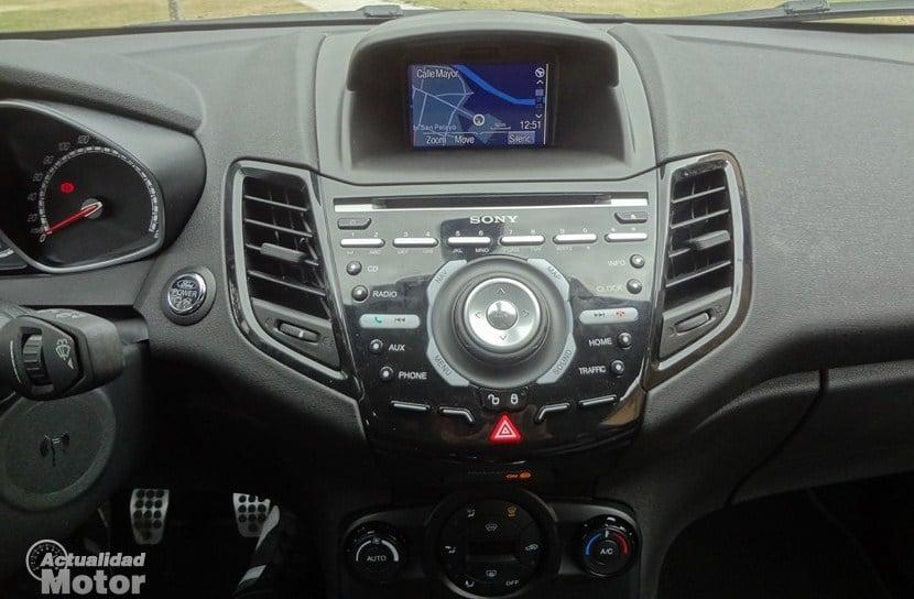 Ford Fiesta ST navegador