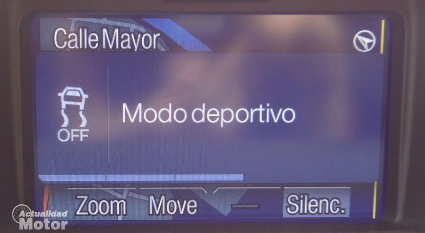 Ford Fiesta ST modo conduccion deportivo