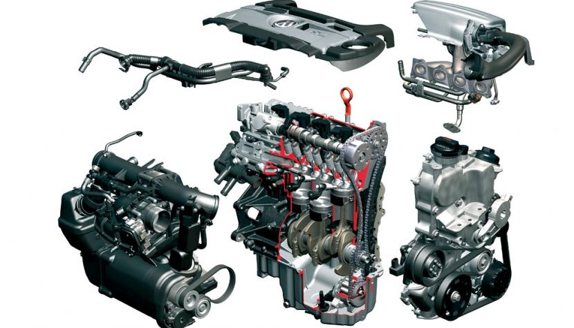 Recreación de un motor Audi TFSI