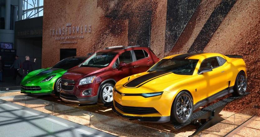 Transformers 4 Chvrolet Autobots Salón de Nueva York