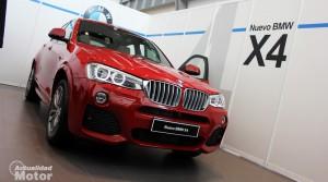 BMW X4 presentación del nuevo SUV Coupé