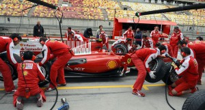 Comparativa Pit Stop F1 1950-2013