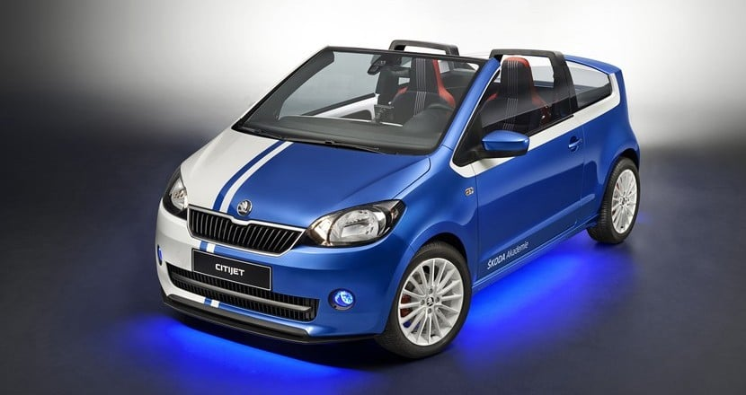 Skoda CitiJet Citigo descapotable