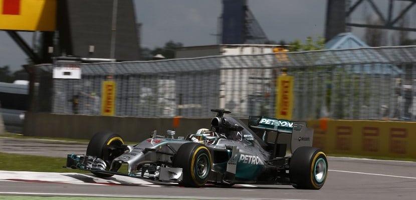 Lewis Hamilton, Mercedes, GP Canadá 2014