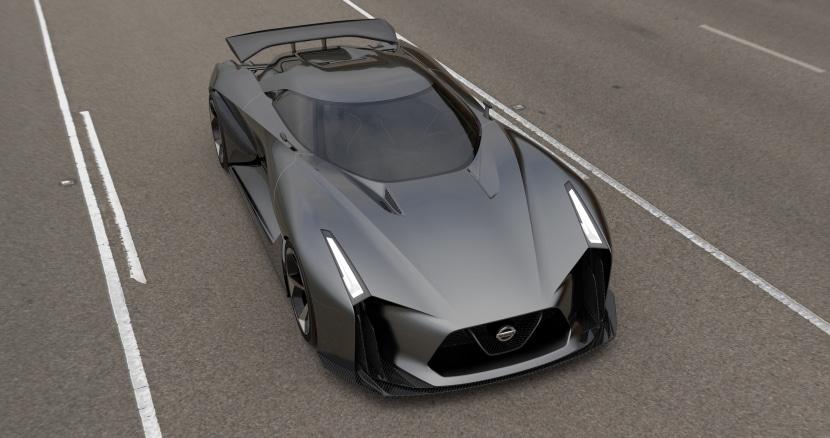 Nissan Concept 2020 Vision Gran Turismo, adelanto GT-R