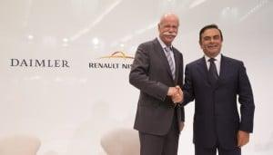 Alianza Renault-Nissan Mercedes-Benz