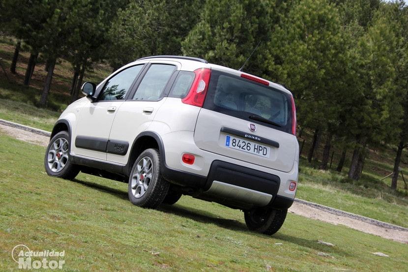 Prueba FIAT Panda 4x4 Multijet 75 CV Diseño