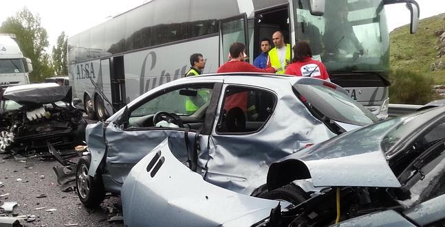 accidente autobus