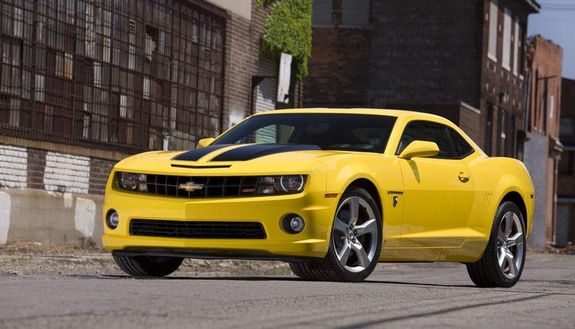 Historia de Chevrolet Cmaro Bumblebee en Transformers 4