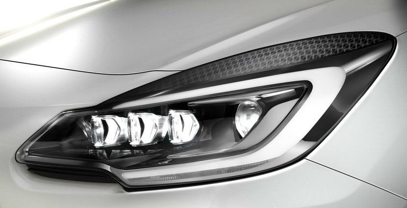 Faros LED y xenón del nuevo Citroën DS3
