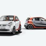 Smart ForTwo y ForFour 2015 detalles
