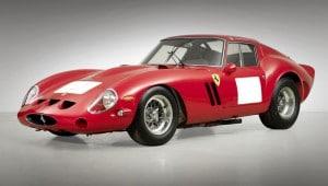 Ranking de coches a subasta más caros del mundo