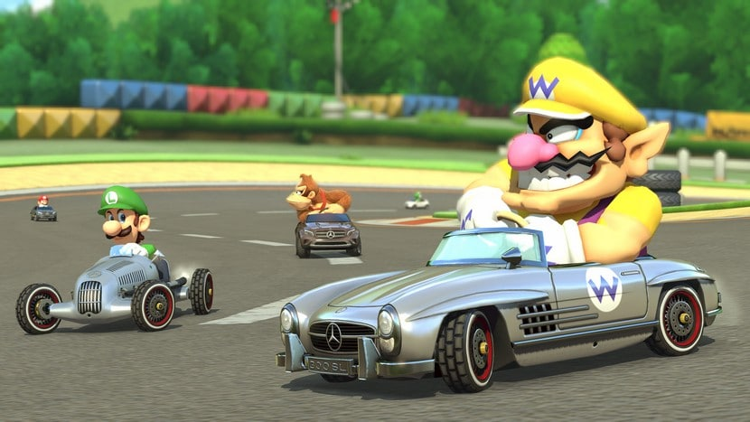 Pack Mercedes Mario Kart 8