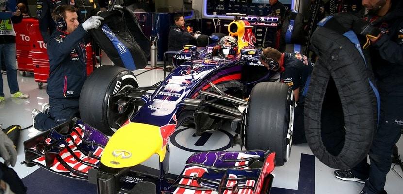Sebastian Vettel, Red Bull, GP Bélgica 2014