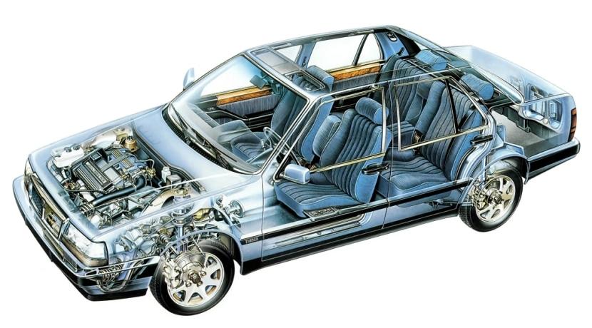 Lancia Thema Alcantara