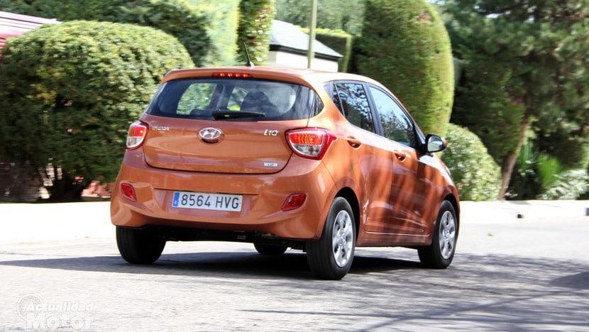 Prueba Hyundai i10 1.2 87 CV Consumo
