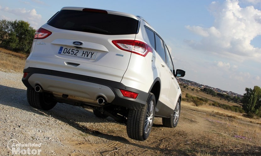 Prueba Ford Kuga Ecoboost 150 CV Consumo