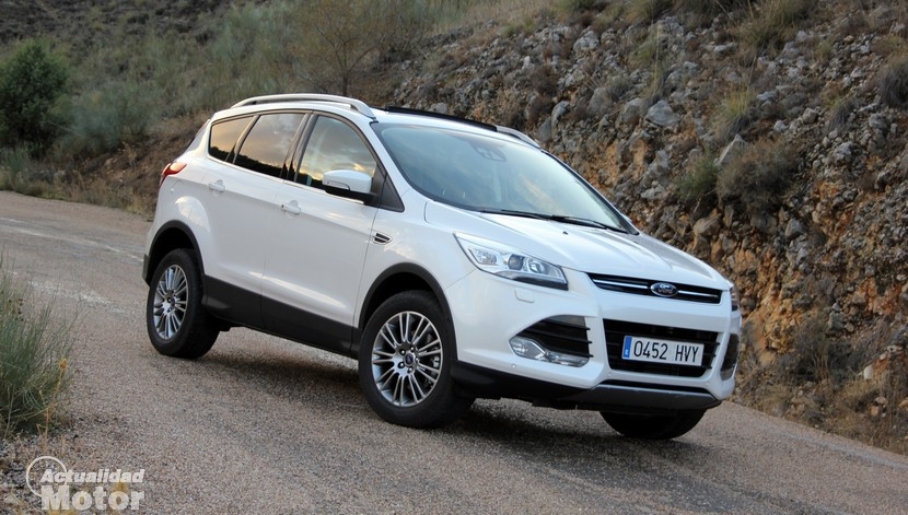 prueba ford kuga ecoboost 150 cv consumo y comportamiento. Black Bedroom Furniture Sets. Home Design Ideas