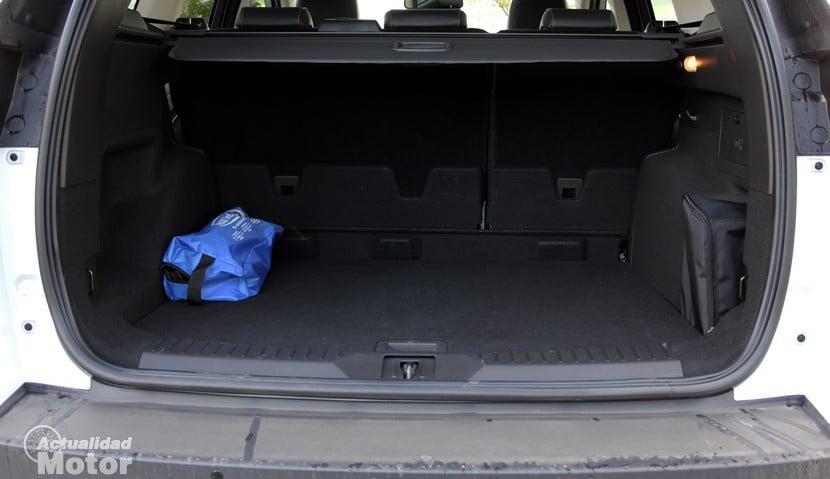 Prueba Ford Kuga Ecoboost 150 diseño habitabilidad