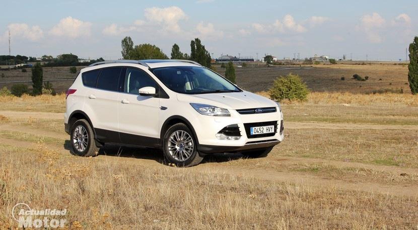 Prueba Ford Kuga Ecoboost 150 Precio Equipamiento