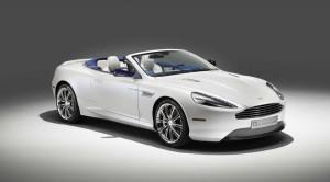 Aston Martin DB9 Volante Morning Frost personalización