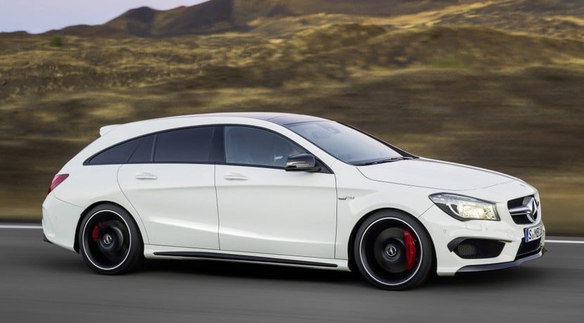 Mercedes CLA Shooting Brake 2015 detalles