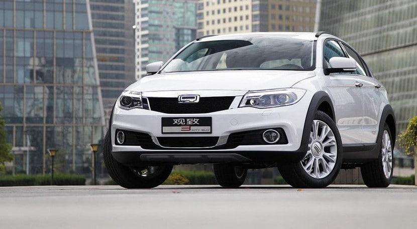 Qoros 3 City SUV 2015