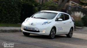 Prueba Nissan LEAF eléctrico