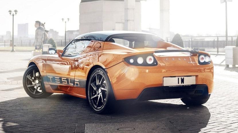 Tesla Roadster actualización batería