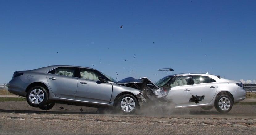 Accidente saab