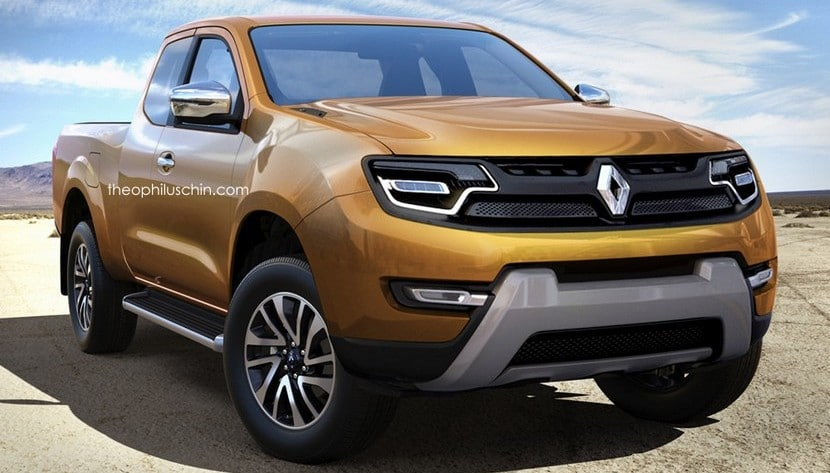 renault pick up el navara de renault por theophilus chin. Black Bedroom Furniture Sets. Home Design Ideas