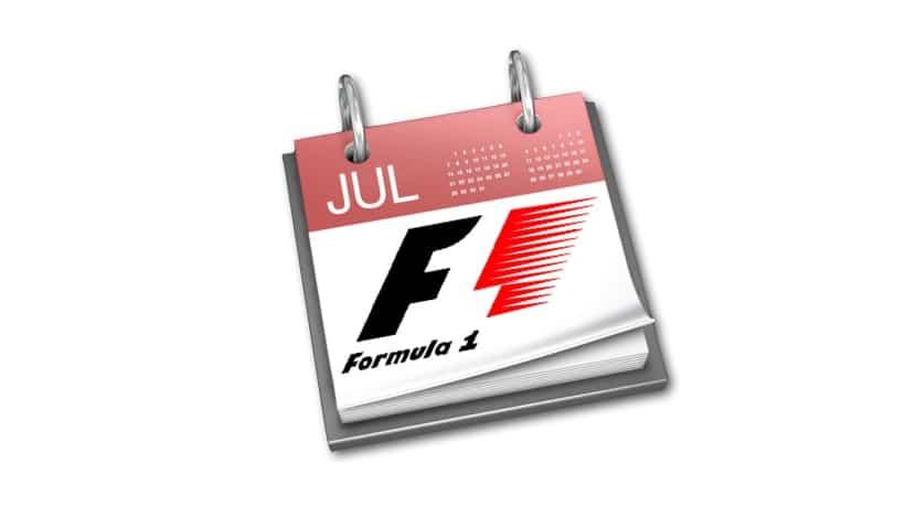 Calendario F1 2015