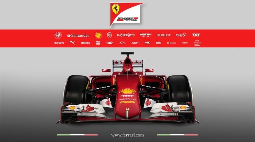 Ferrari SF15-T frontal
