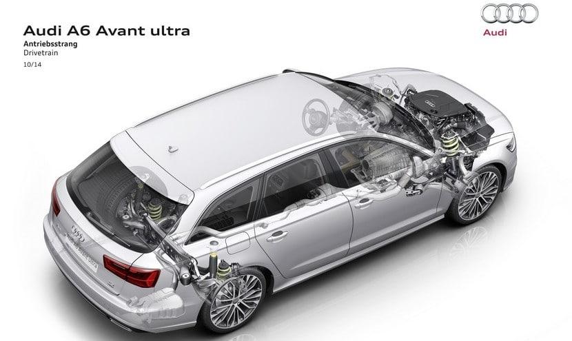 Audi A6 ultra técnica