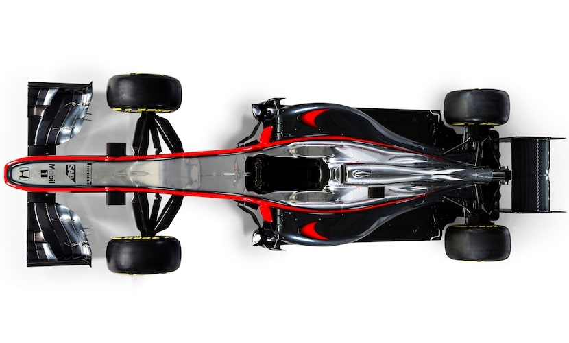 McLaren MP4-30 vista superior