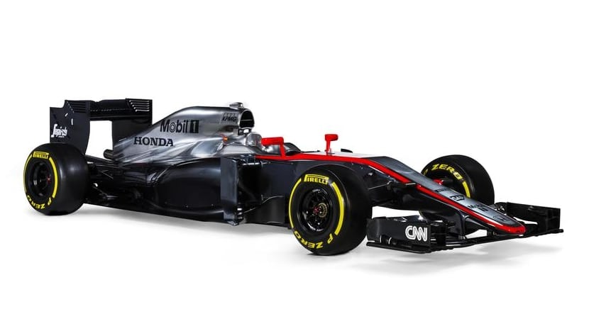 McLaren MP4-30 lateral