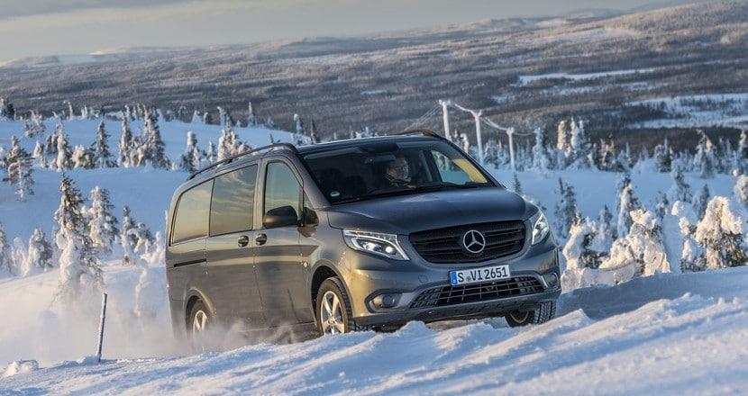 Der neue Mercedes-Benz Vito 4x4