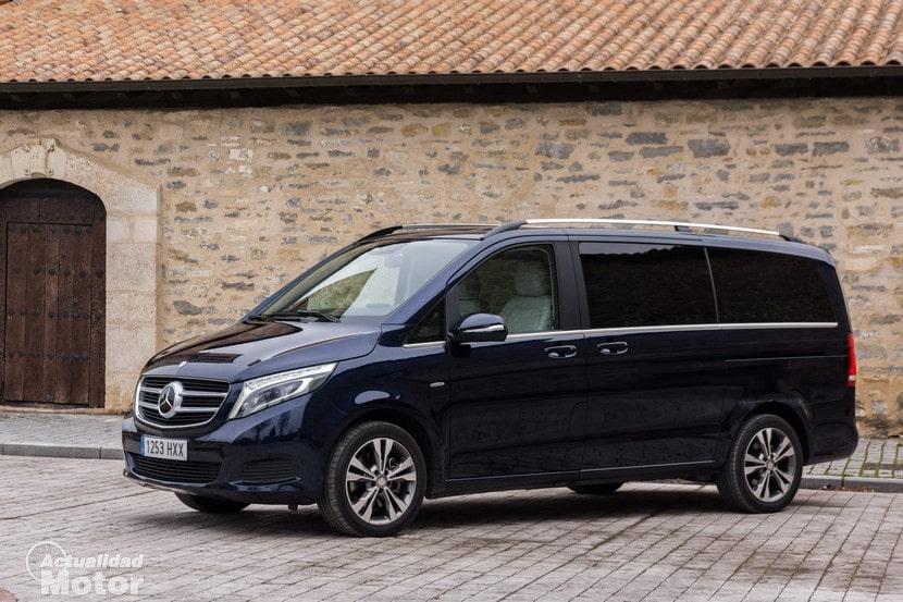 Populaire Prueba Mercedes Clase V 250 Bluetec, diseño exterior e interior YU11