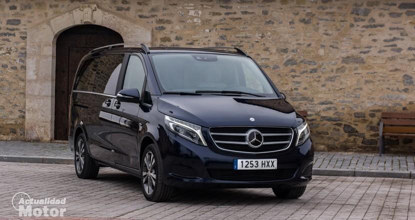 Prueba Mercedes Clase V 250 Bluetec