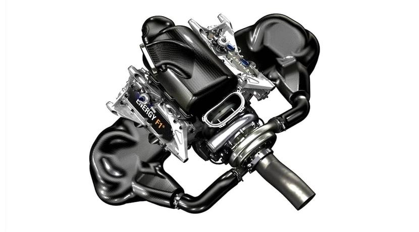 Motor Renault V6 Turbo híbrido de F1
