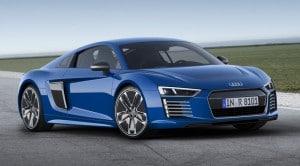 Audi R8 e-tron 2015 fotos