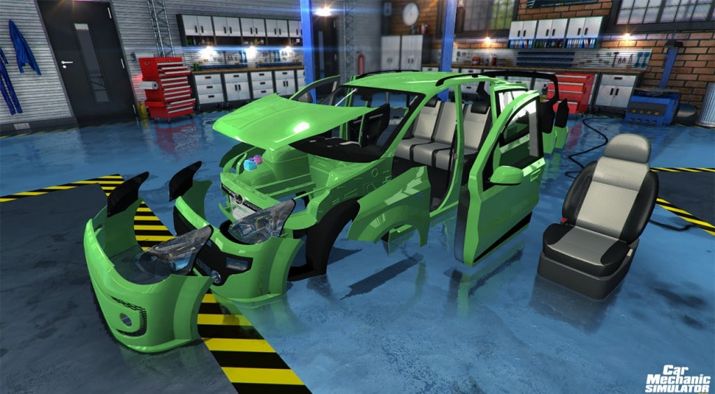 Taller de Car Mechanic Simulator