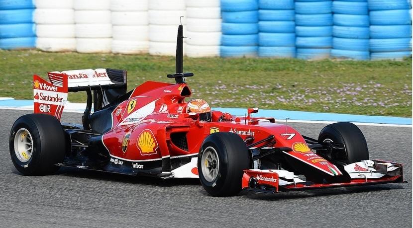 Ferrari SF15-T pilotado por Kimi
