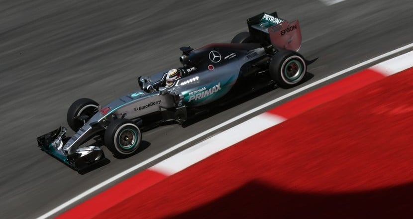 Mercedes GP Malasia