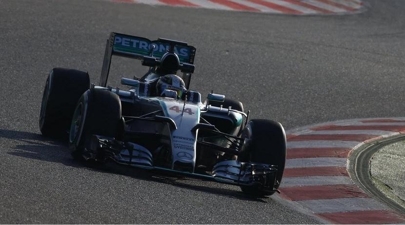 Mercedes de Hamilton en Malasia