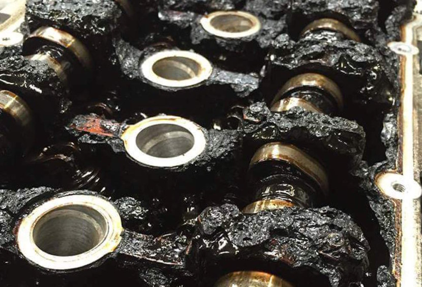 motor sin cambiar aceite