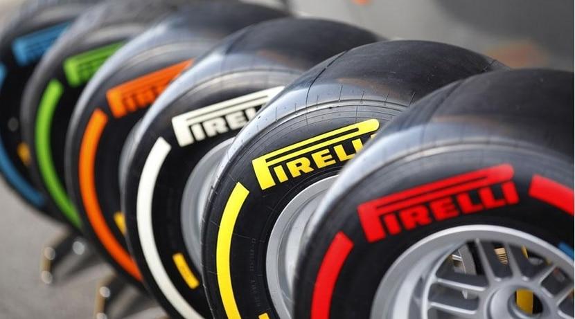 Neumáticos Pirelli F1 P-Zero