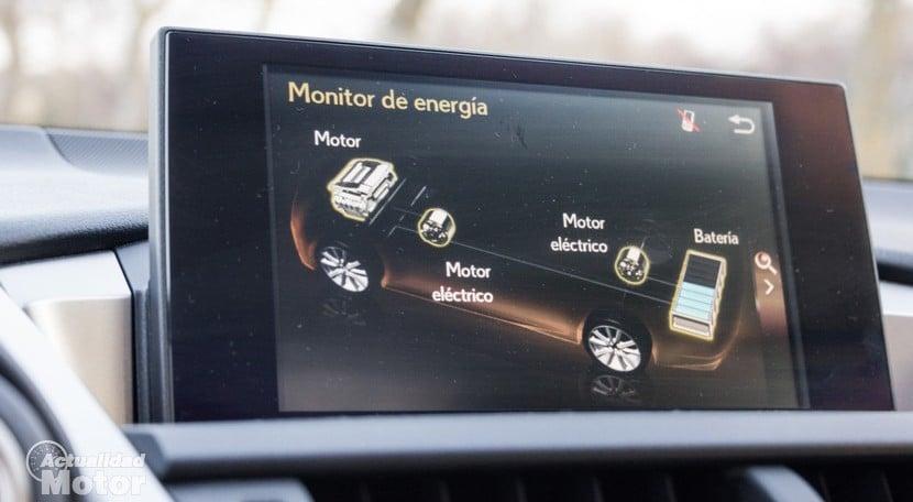 Prueba Lexus NX 300h F Sport Consumos