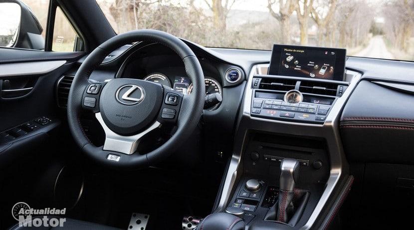 Prueba Lexus NX 300h F Sport Precios