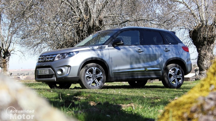 Prueba Suzuki Vitara 2015, vuelve el pequeño todoterreno